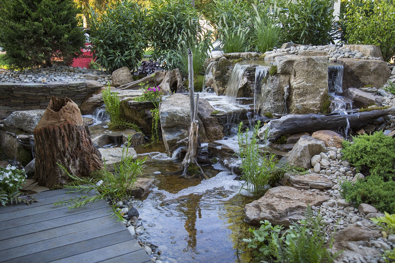 Pondless Waterfalls Waterfalls Backyard Waterfall - Pondless Waterfalls,waterfalls,backyard Waterfall,aquatic Plants
