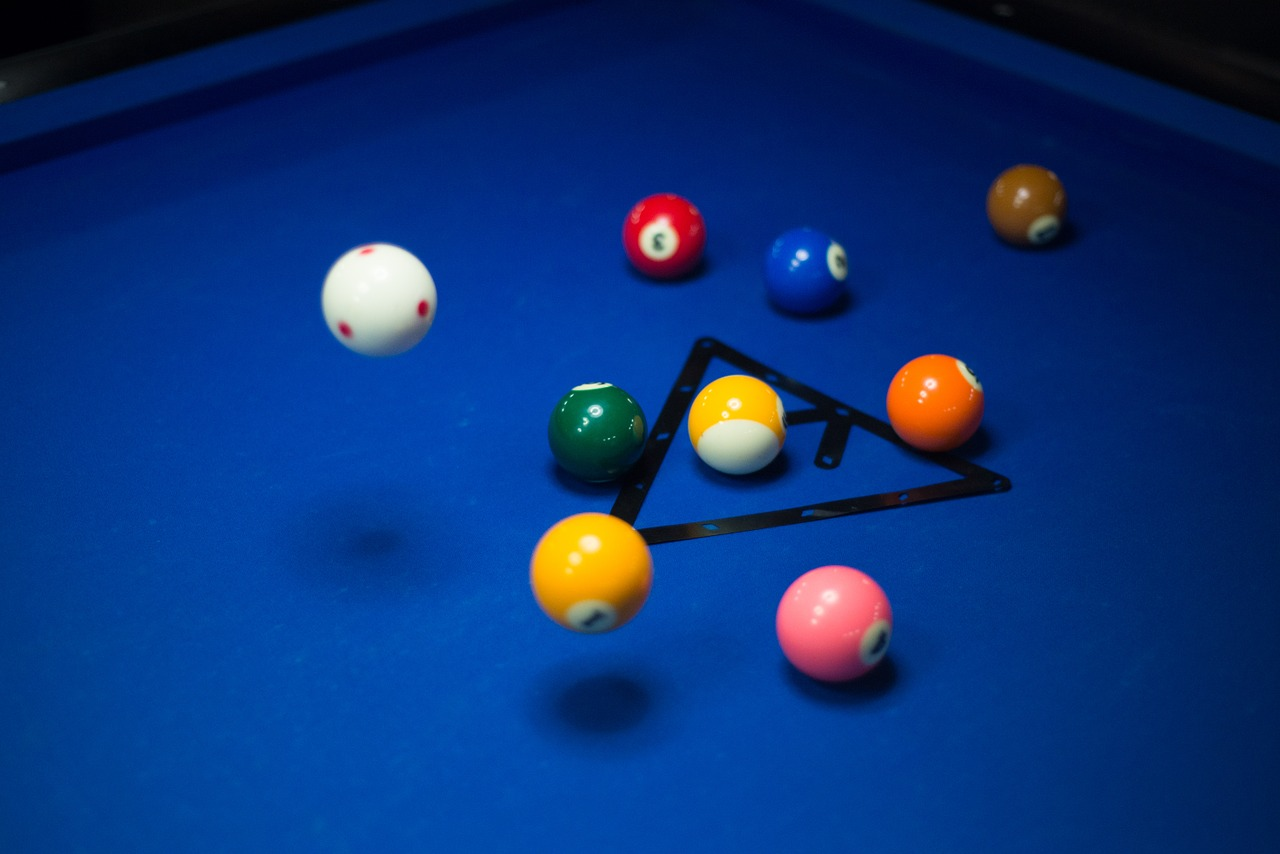 pool billiards game free photo