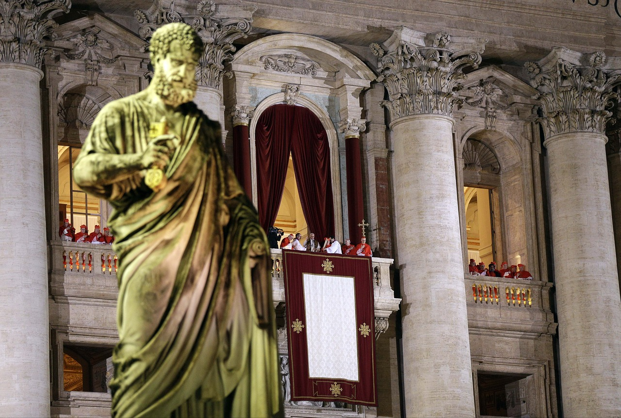 pope saint peter vatican free photo