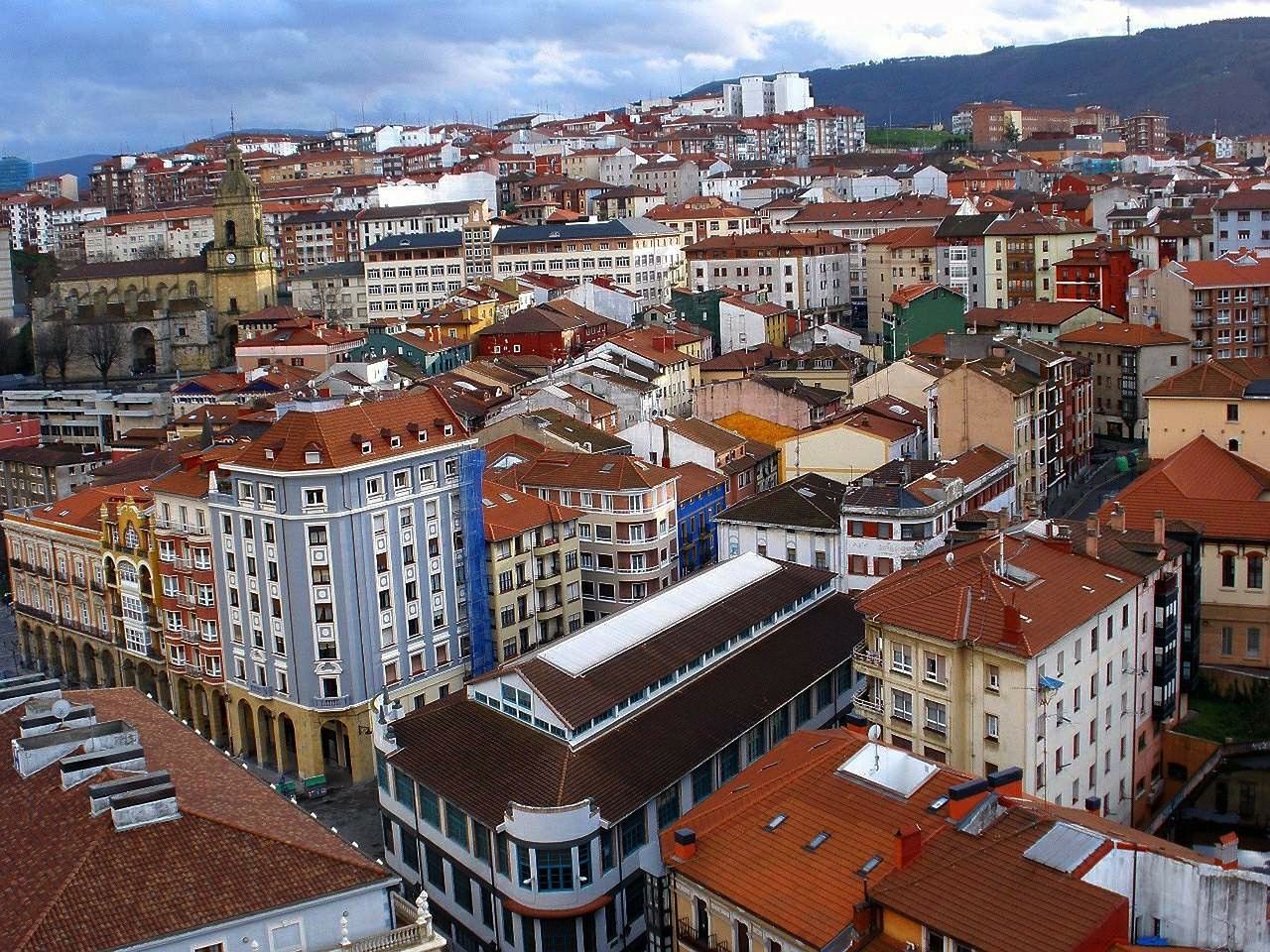 portugalete spain city free photo