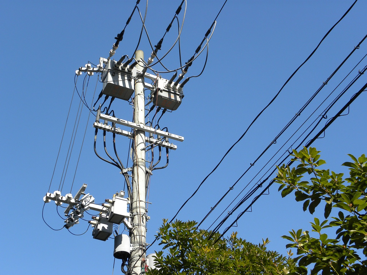 post electric wire transformer free photo