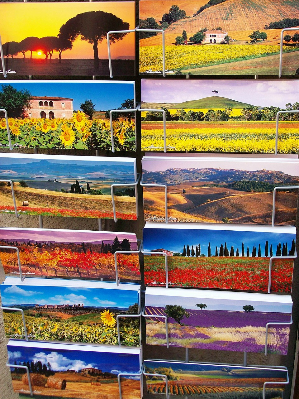 post postcards italy free photo