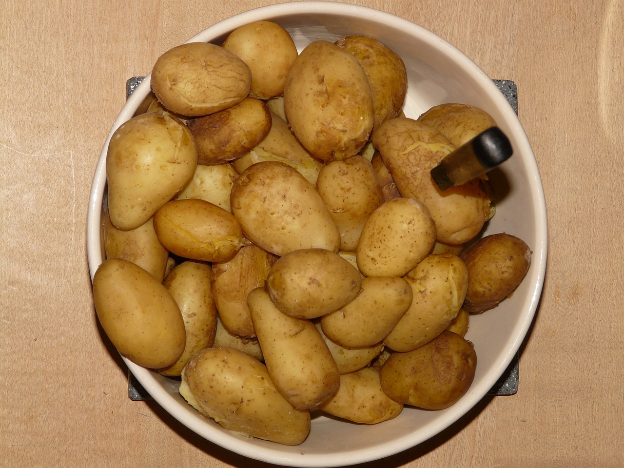 potatoes cooked cook free photo