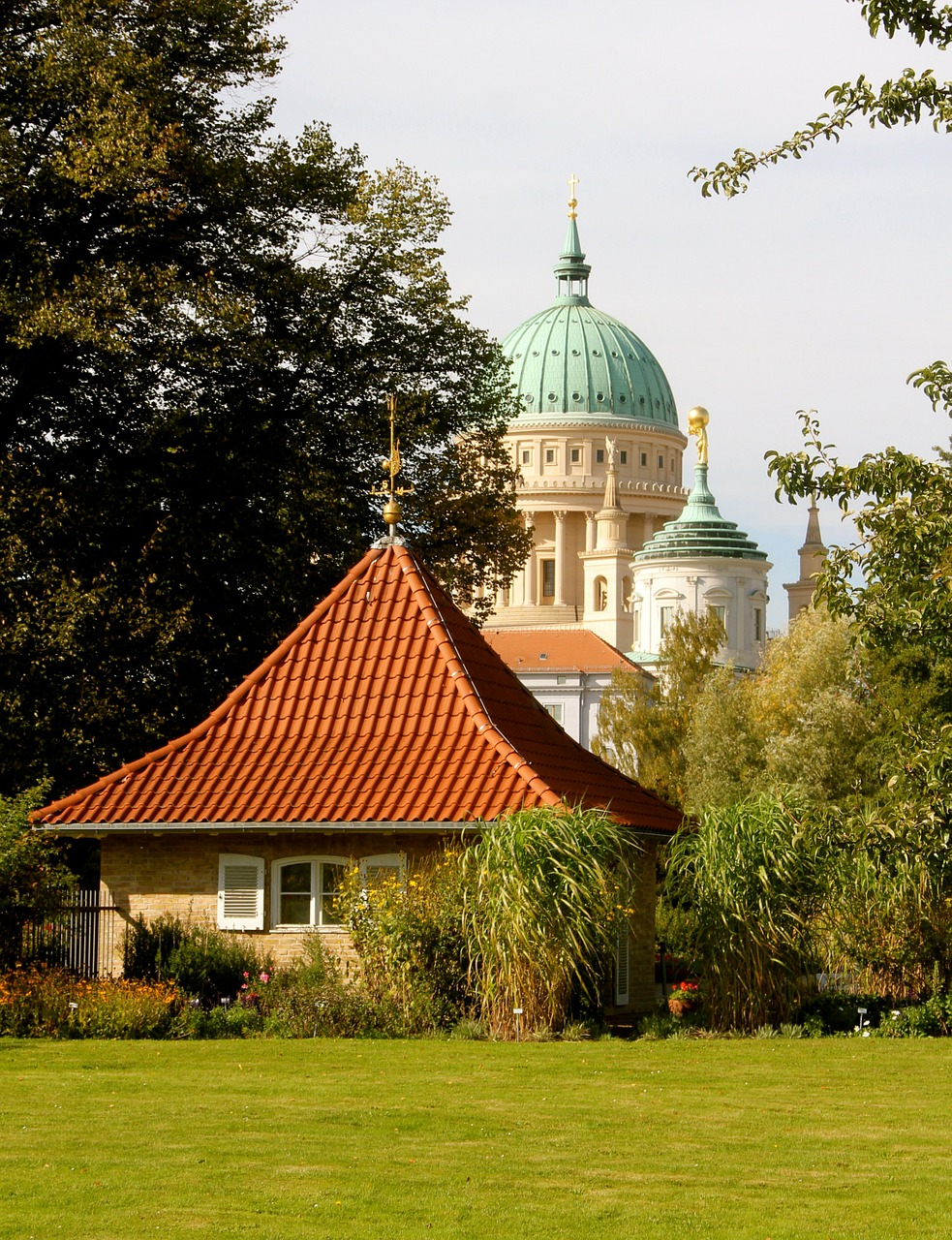 potsdam nikolai church friendship island free photo