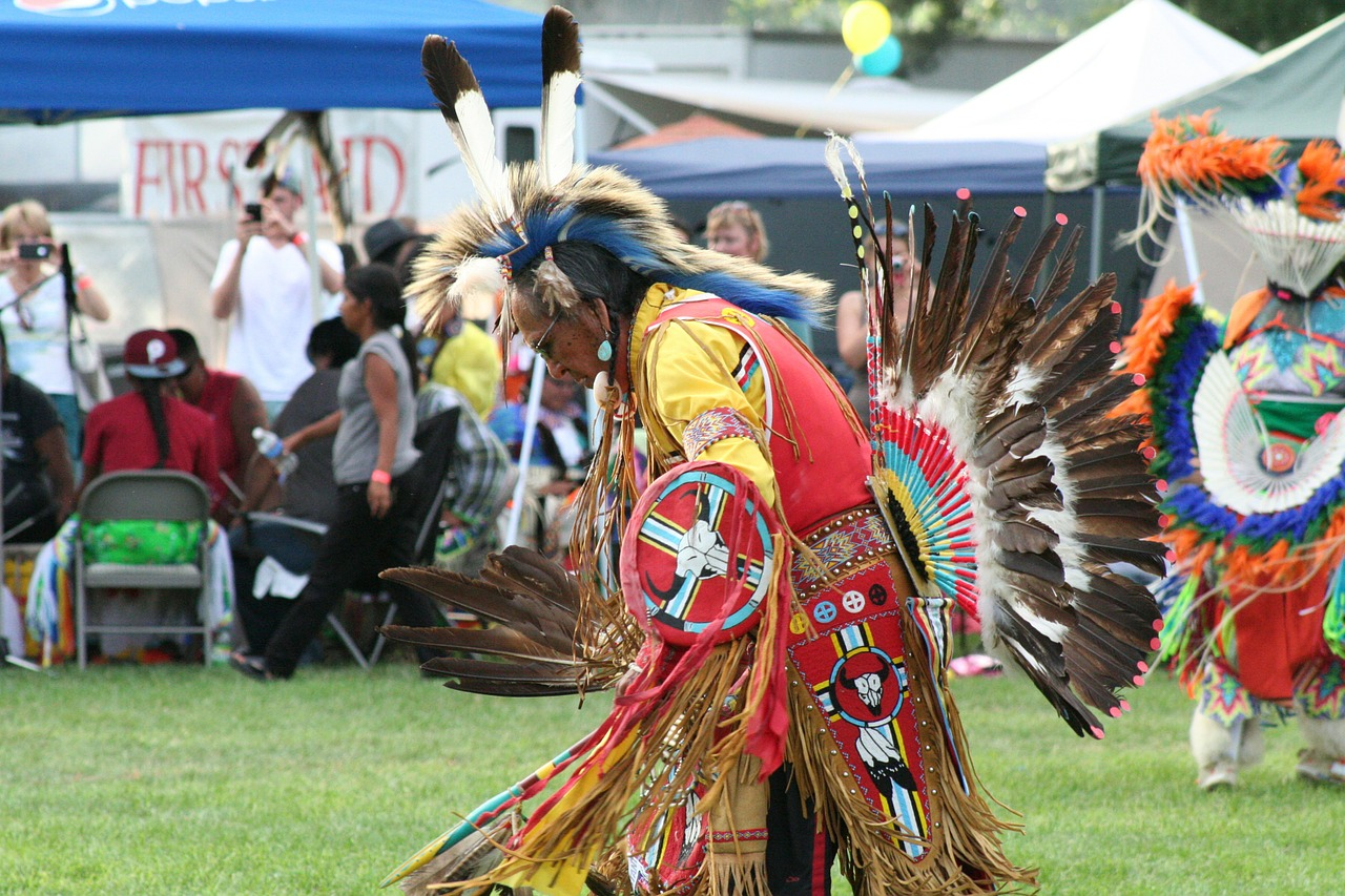 pow wow liberty park pioneer day free photo