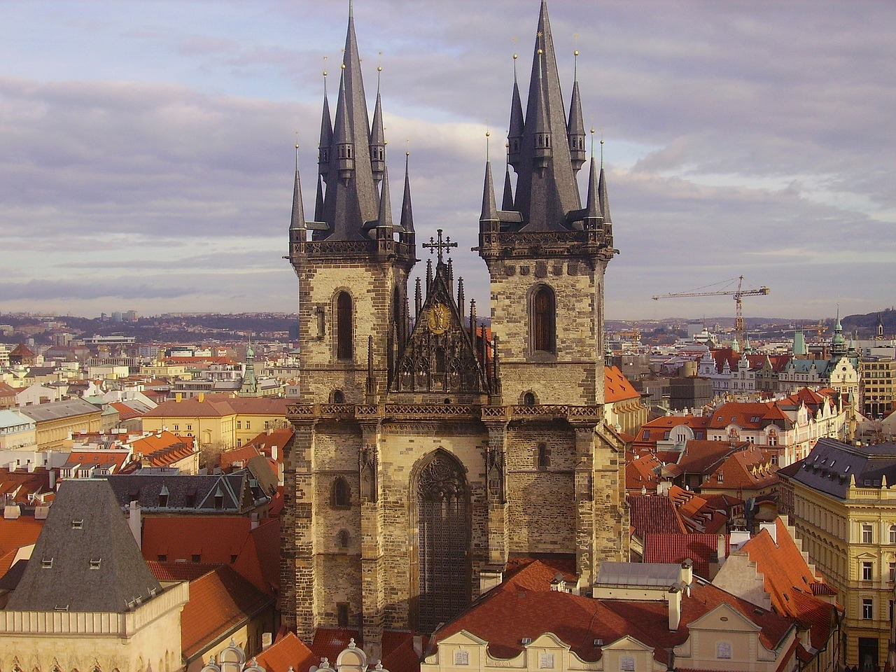 prague czech republic city free photo