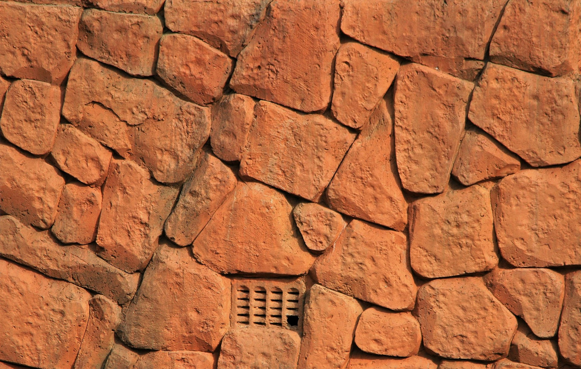 Wall,stones,red-rust,vent,air - free photo from needpix com