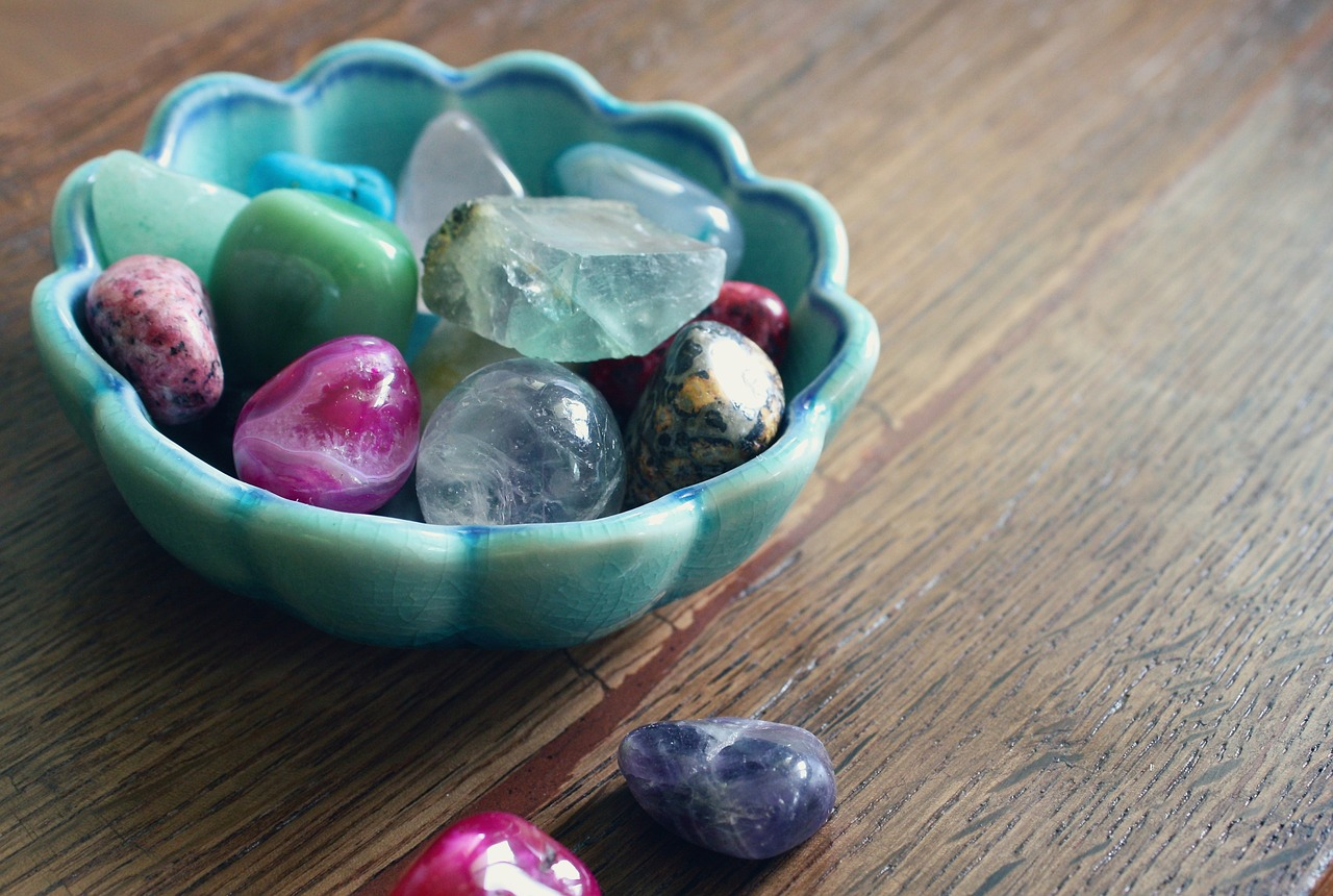 precious stones crystals free photo
