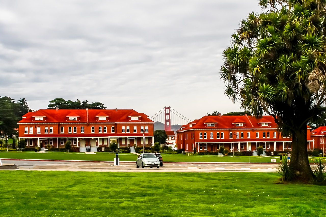 presidio saf francisco palms free photo