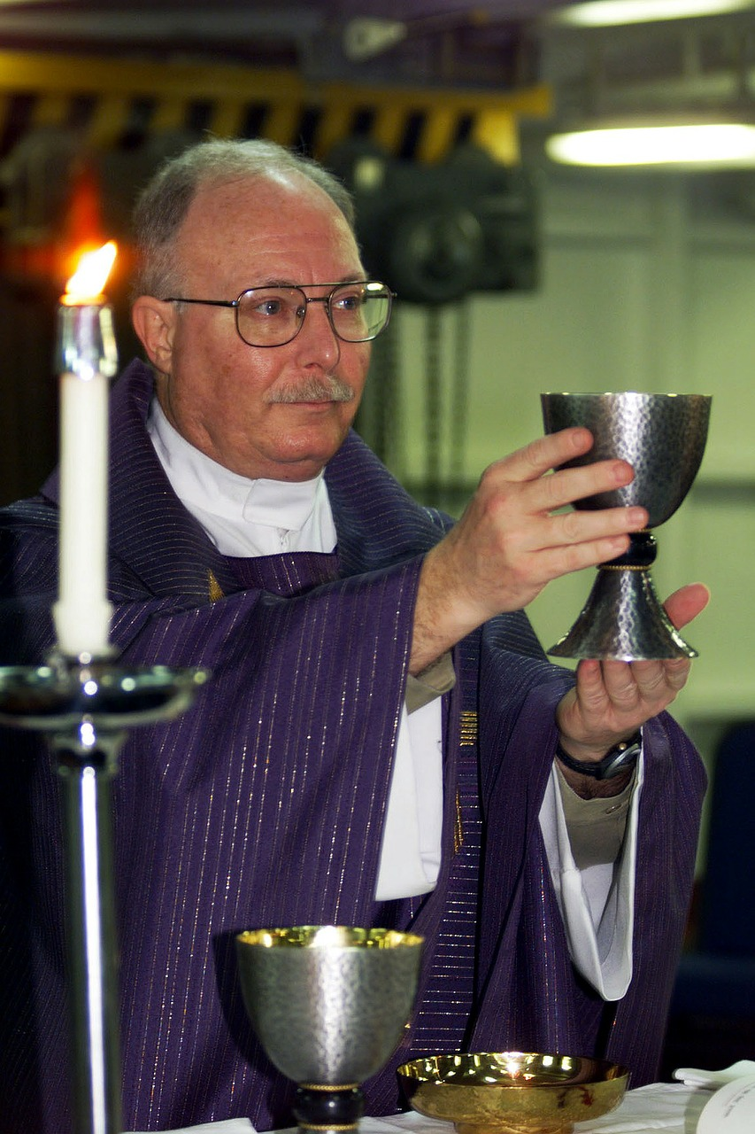 priest mass roman catholic free photo