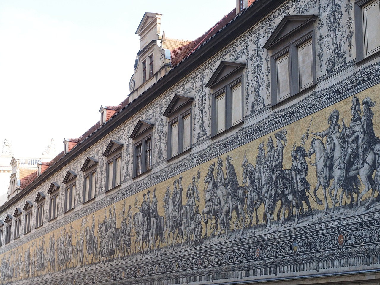 princes dresden mural free photo