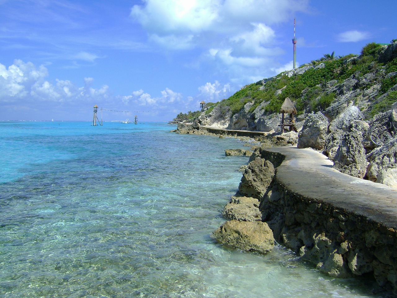 punta sur cozumel mexico free photo