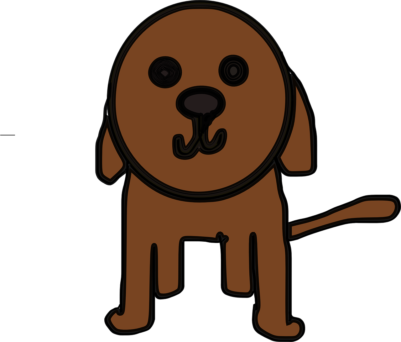 puppy,dog,beagle,animal,brown,free vector graphics,free pictures, free photos, free images, royalty free, free illustrations, public domain