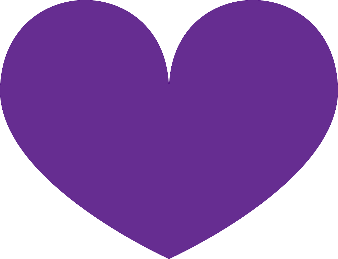 purple heart love free photo