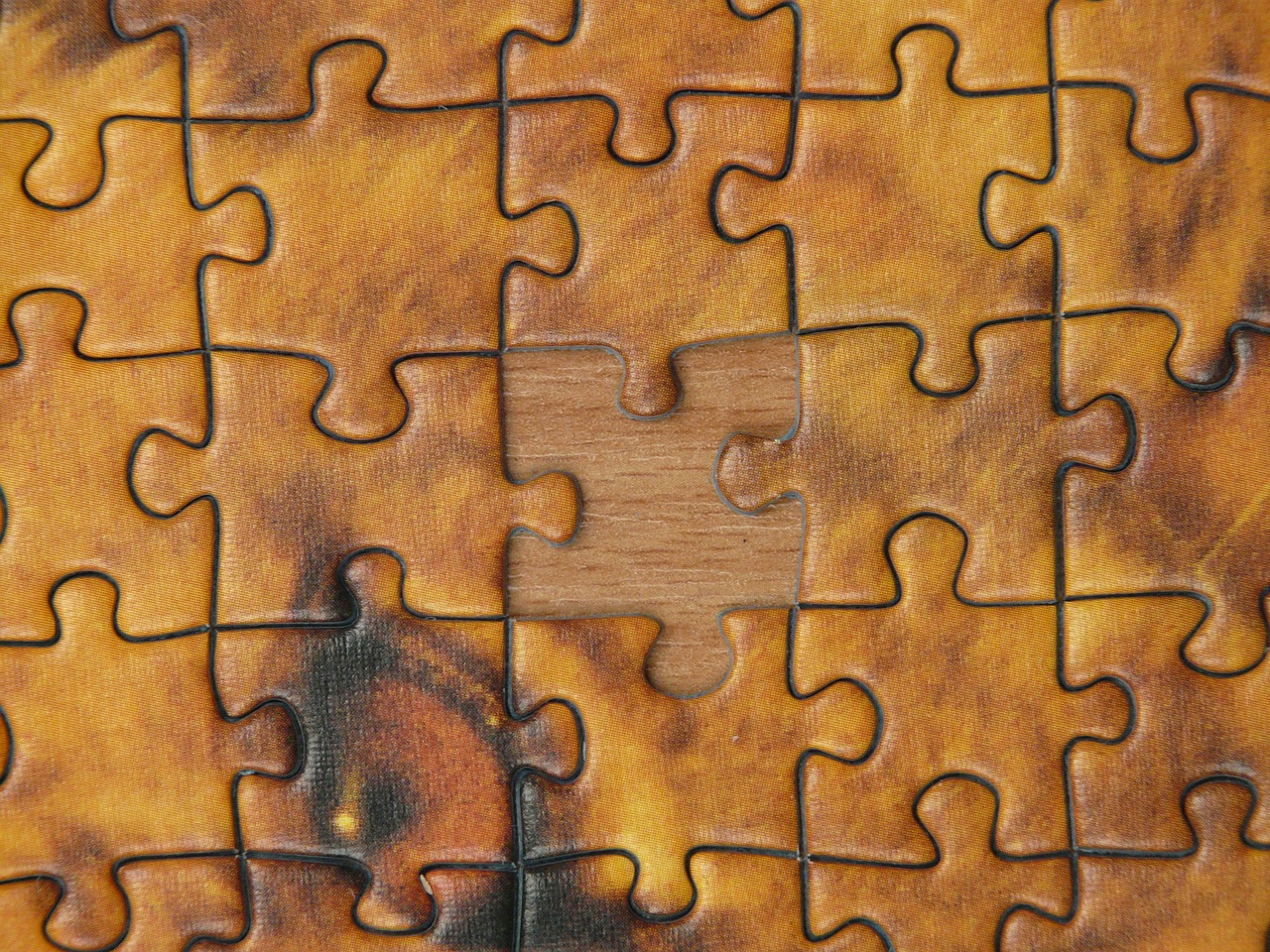 puzzle puzzle piece memory cards covered with free photo