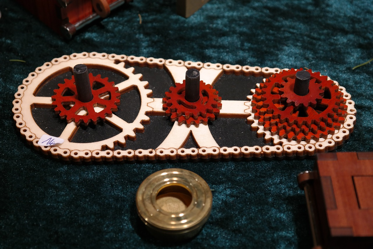 puzzle gears tricky free photo