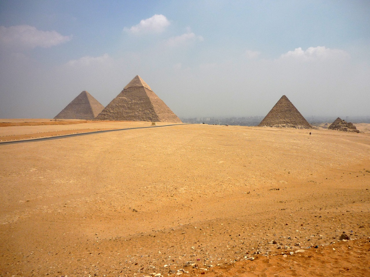 pyramid pyramids egypt free photo