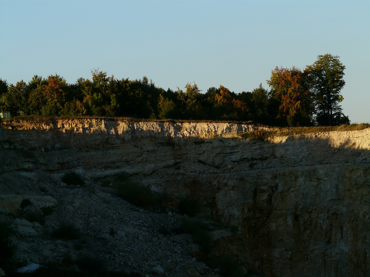 quarry limestone stones free photo
