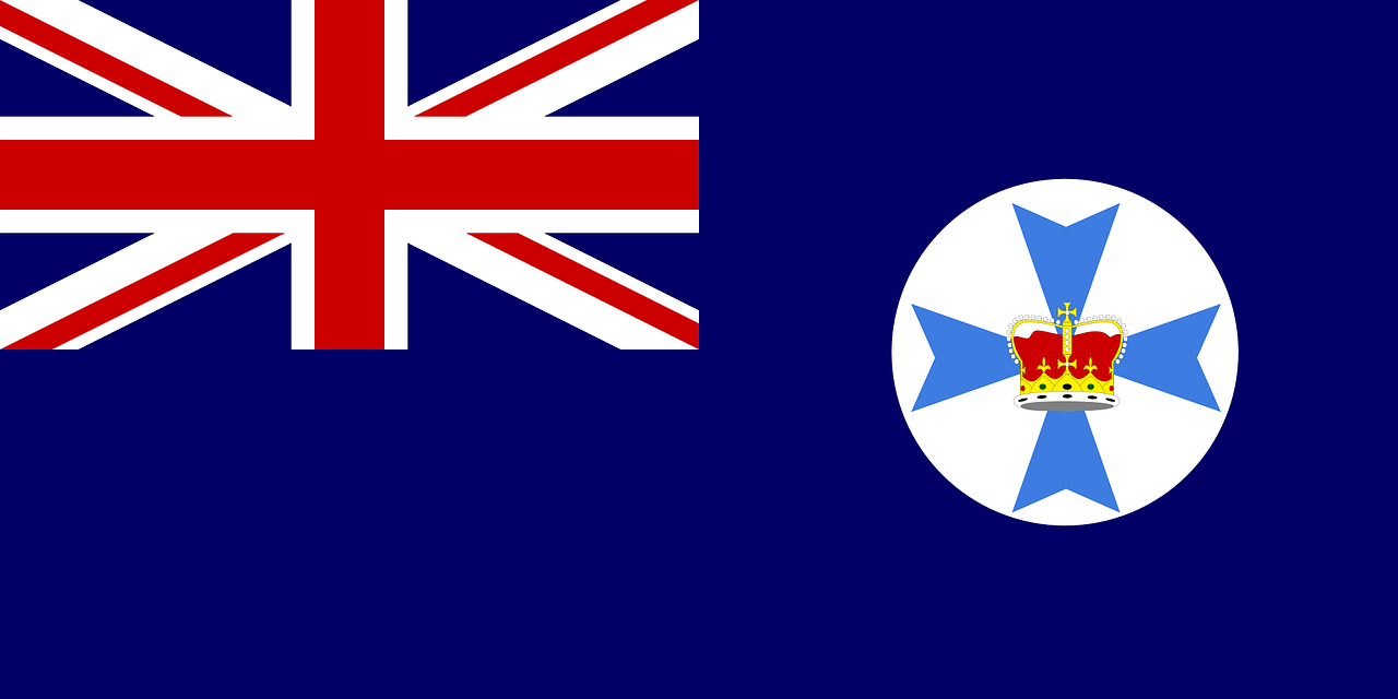 queensland state flag free photo