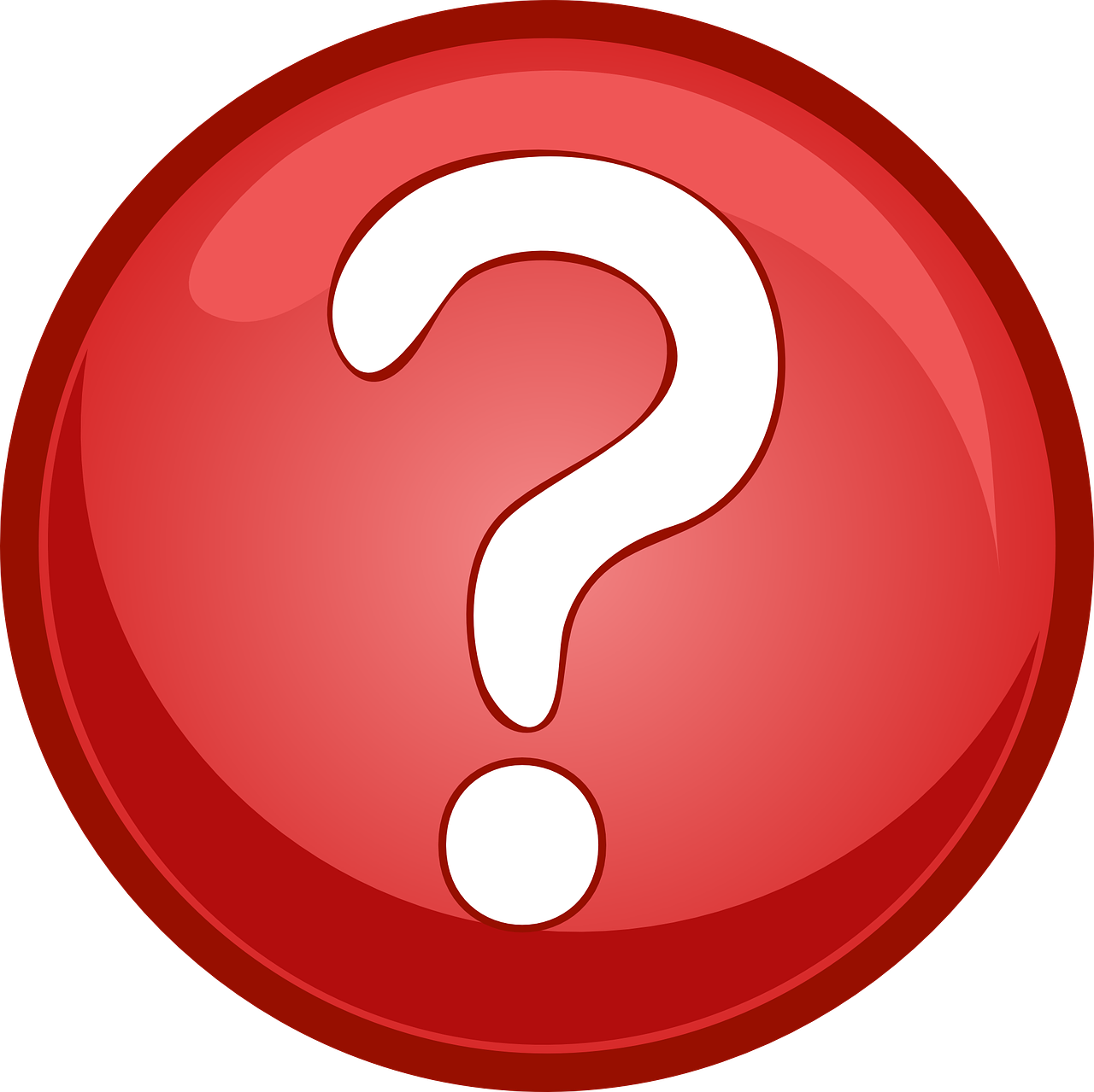 question mark button free photo