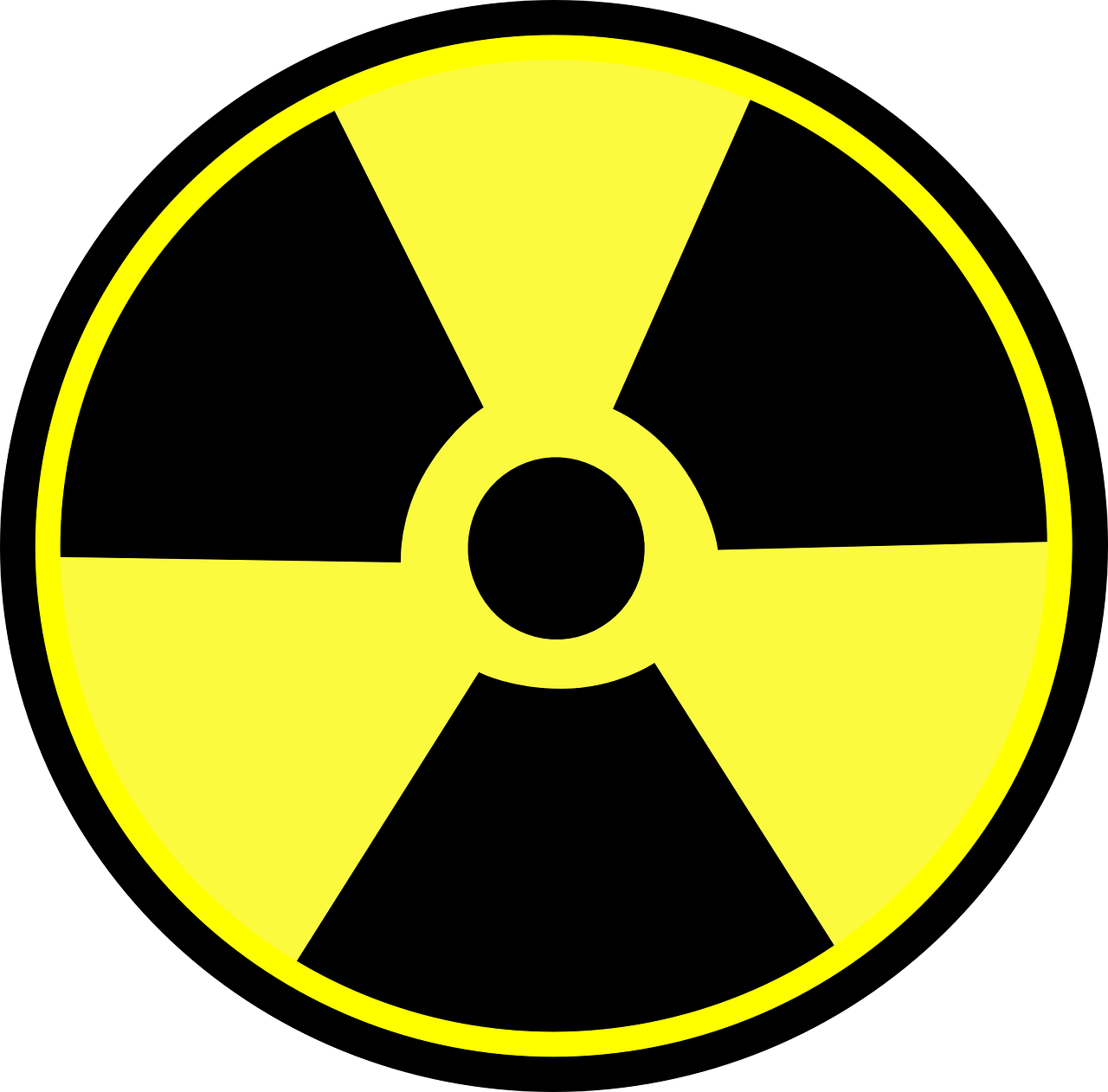 radioactive danger nuclear free photo