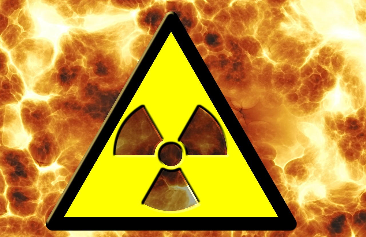radioactivity nuclear power fire free photo
