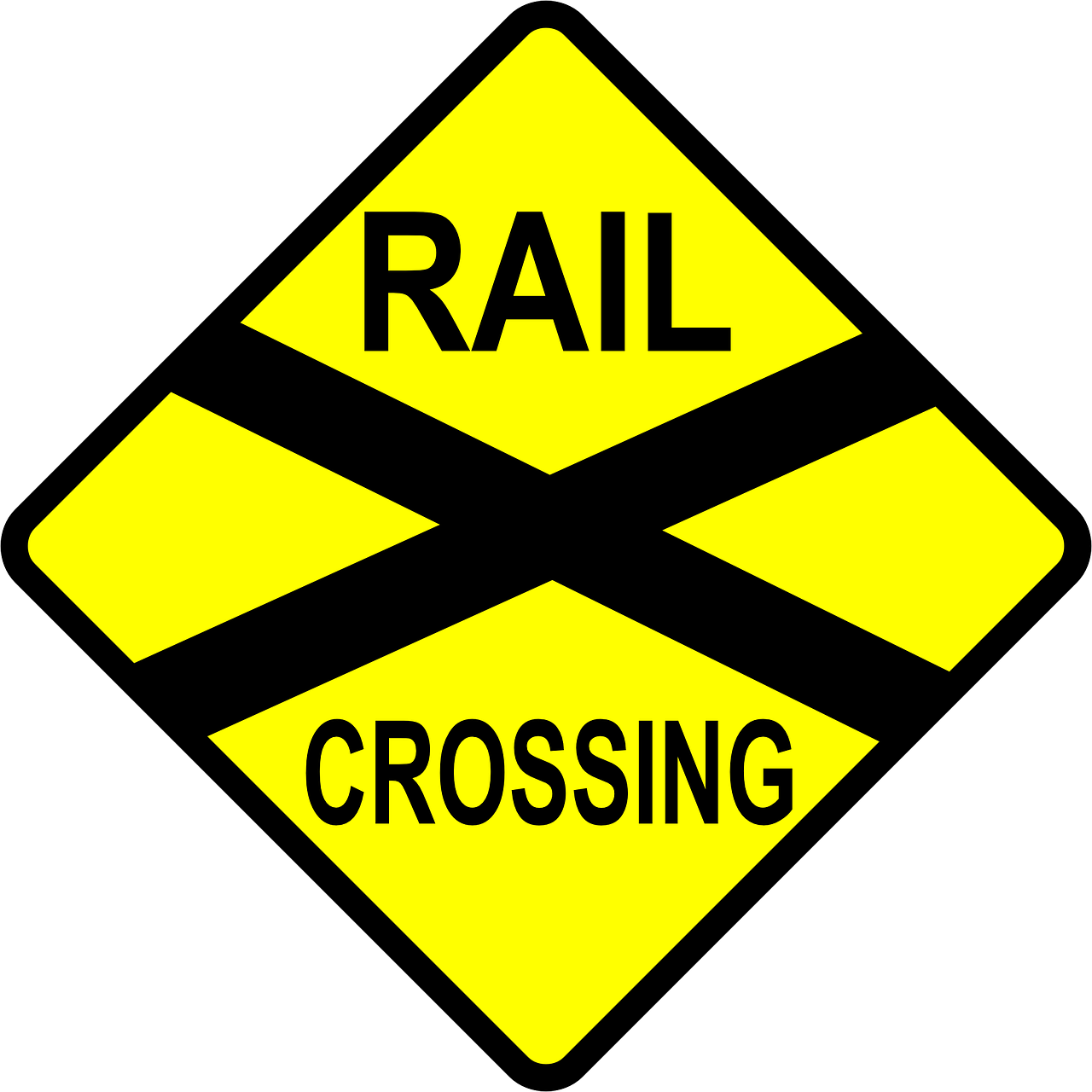 railway crossings railroad free photo