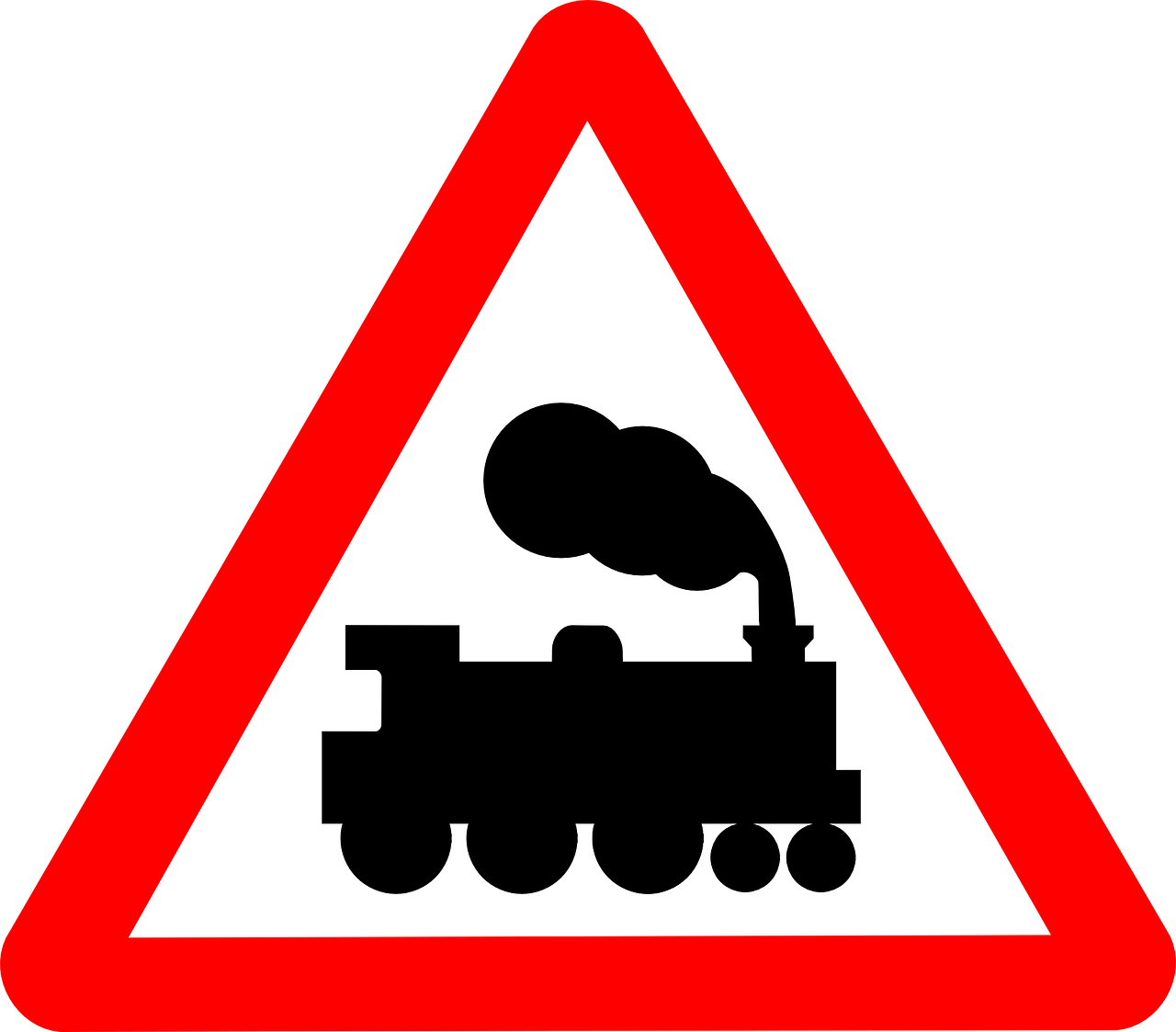 railway crossing,traffic,signs,level crossing,roadsigns,train,railway track,railroad,free vector graphics,free pictures, free photos, free images, royalty free, free illustrations, public domain