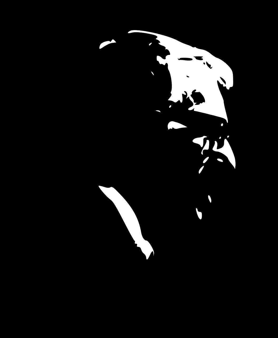 ray bradbury silhouette free photo
