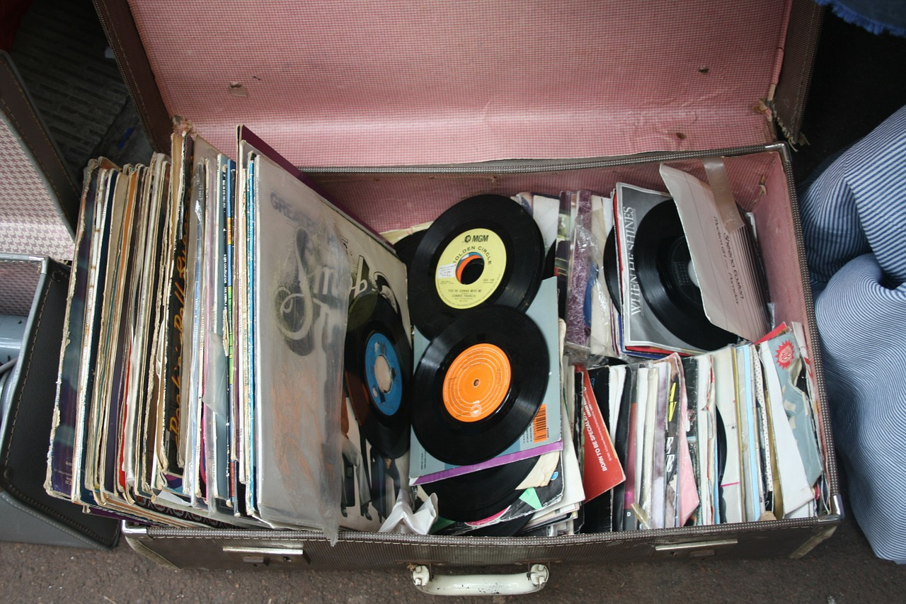 records antique music free photo