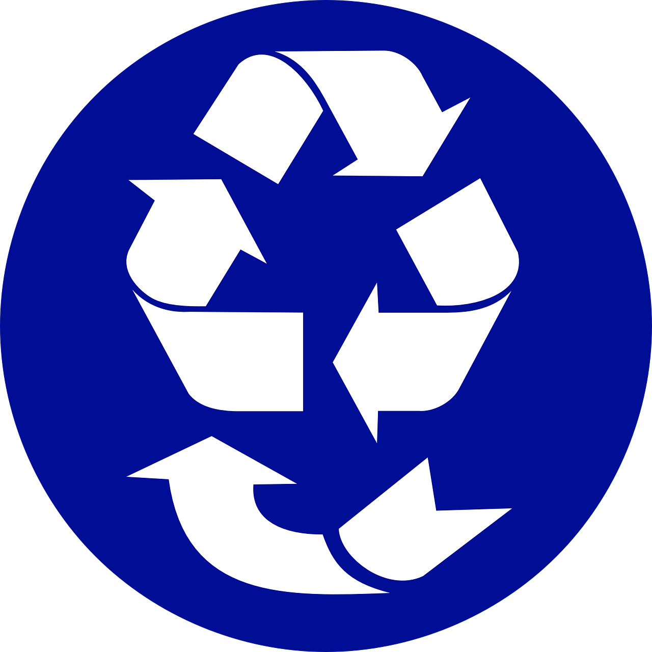 recycle recycling arrows free photo
