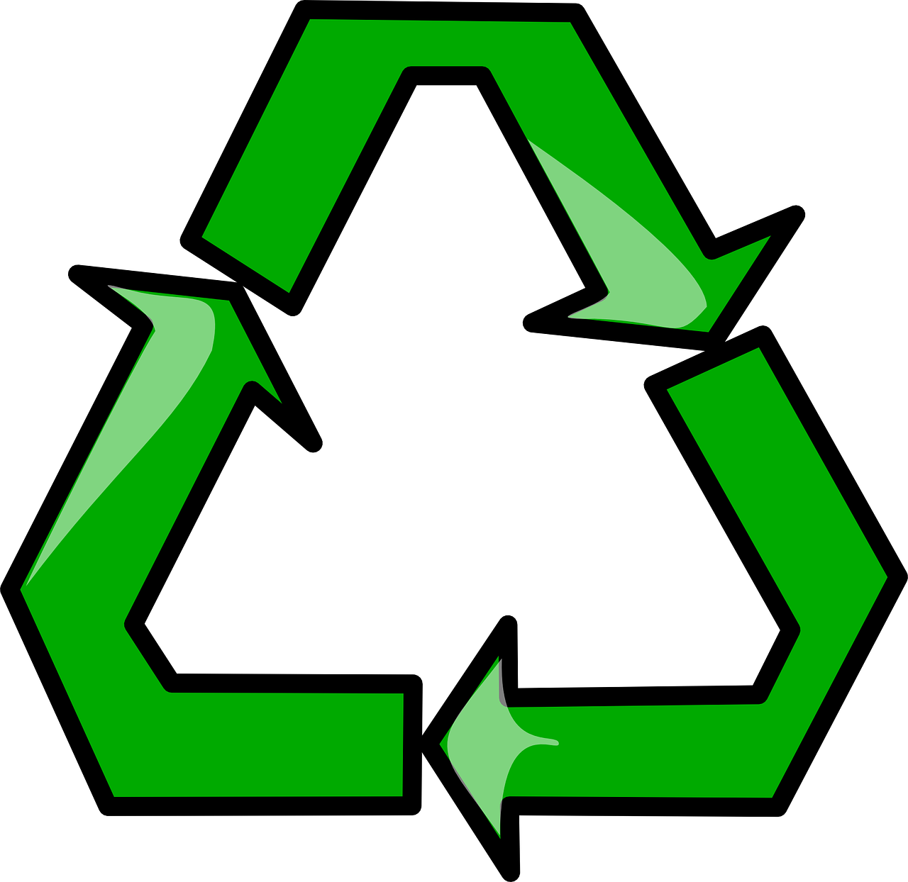 recycle symbol recycling free photo