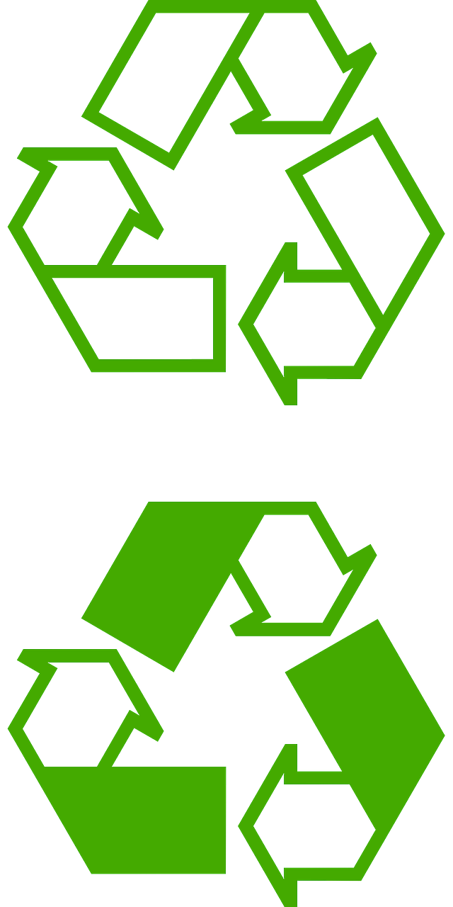 recycling logo recycle free photo