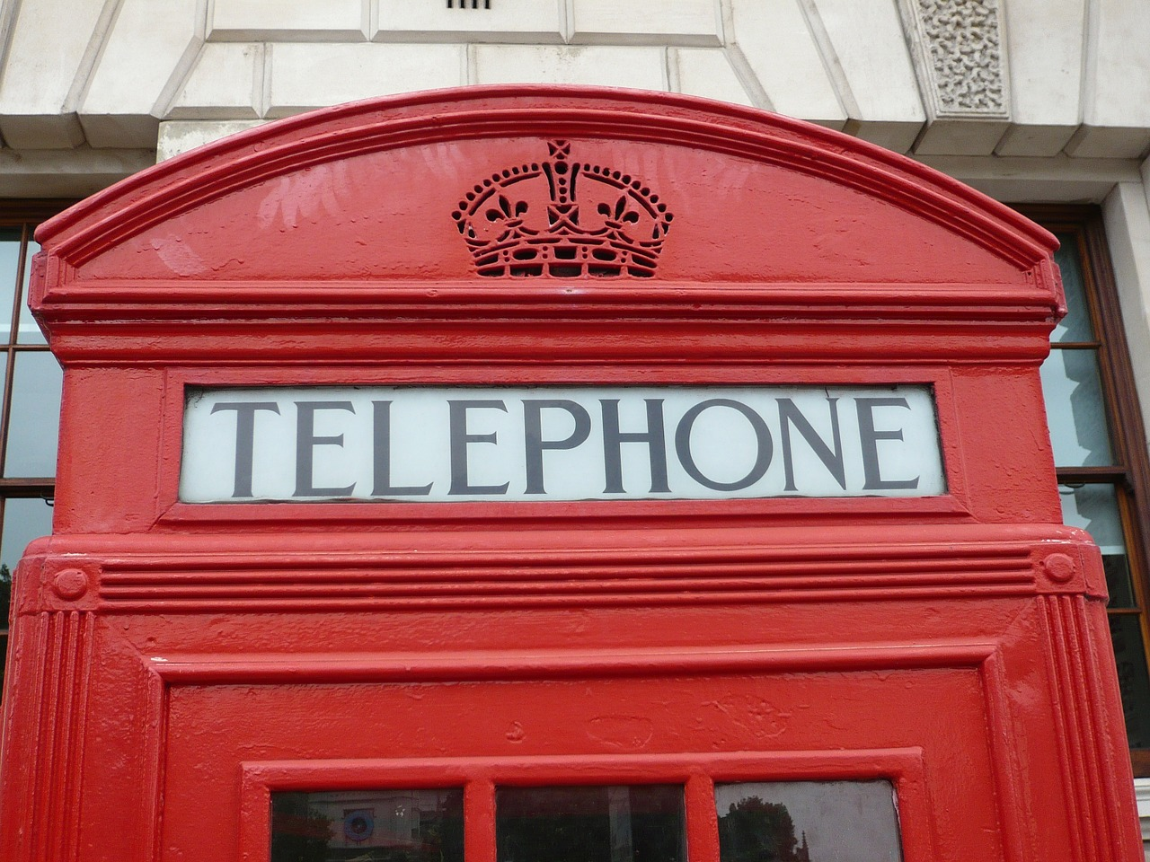 red phone booth london free picture