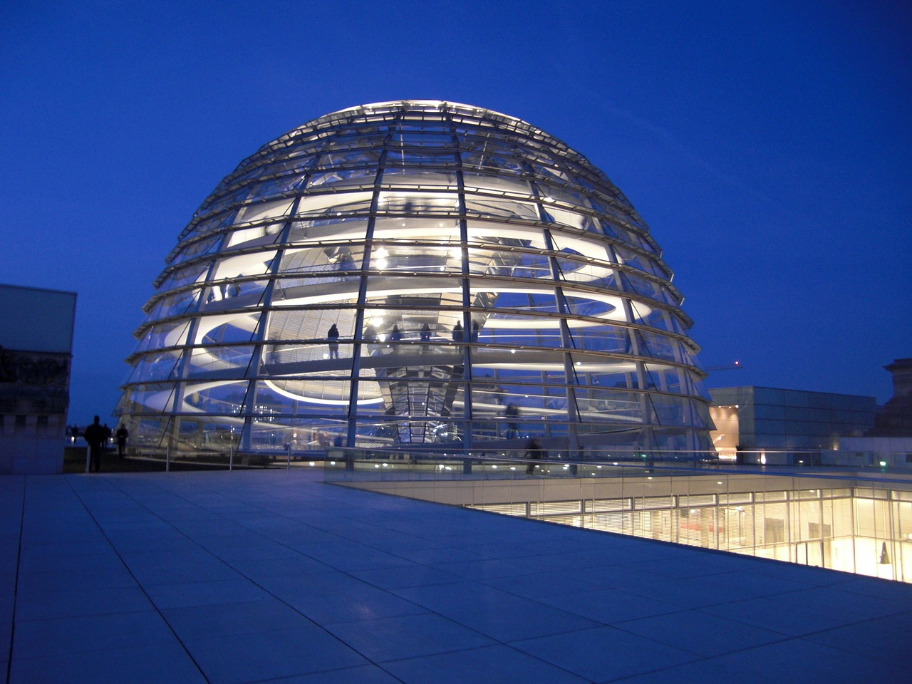 reichstag dome bundestag free photo