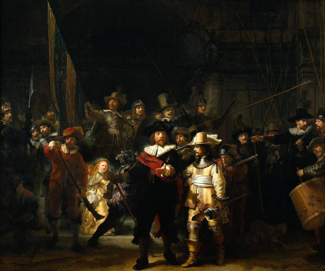 rembrandt van rijn painter artists free photo