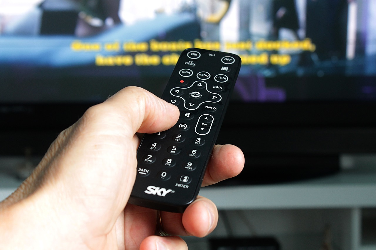 remote control tv electronic free photo