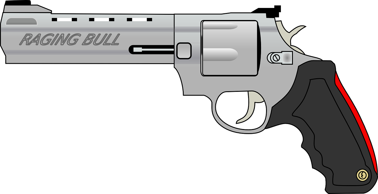 revolver pistol fire free photo