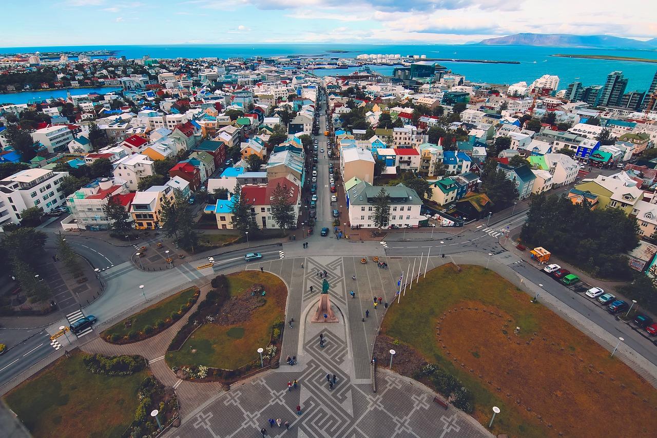 reykjavik iceland city free photo