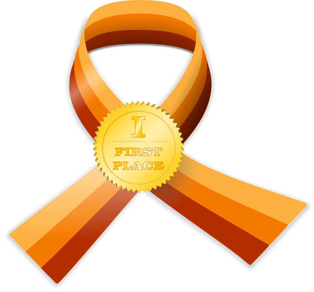 ribbon certificate golden free photo
