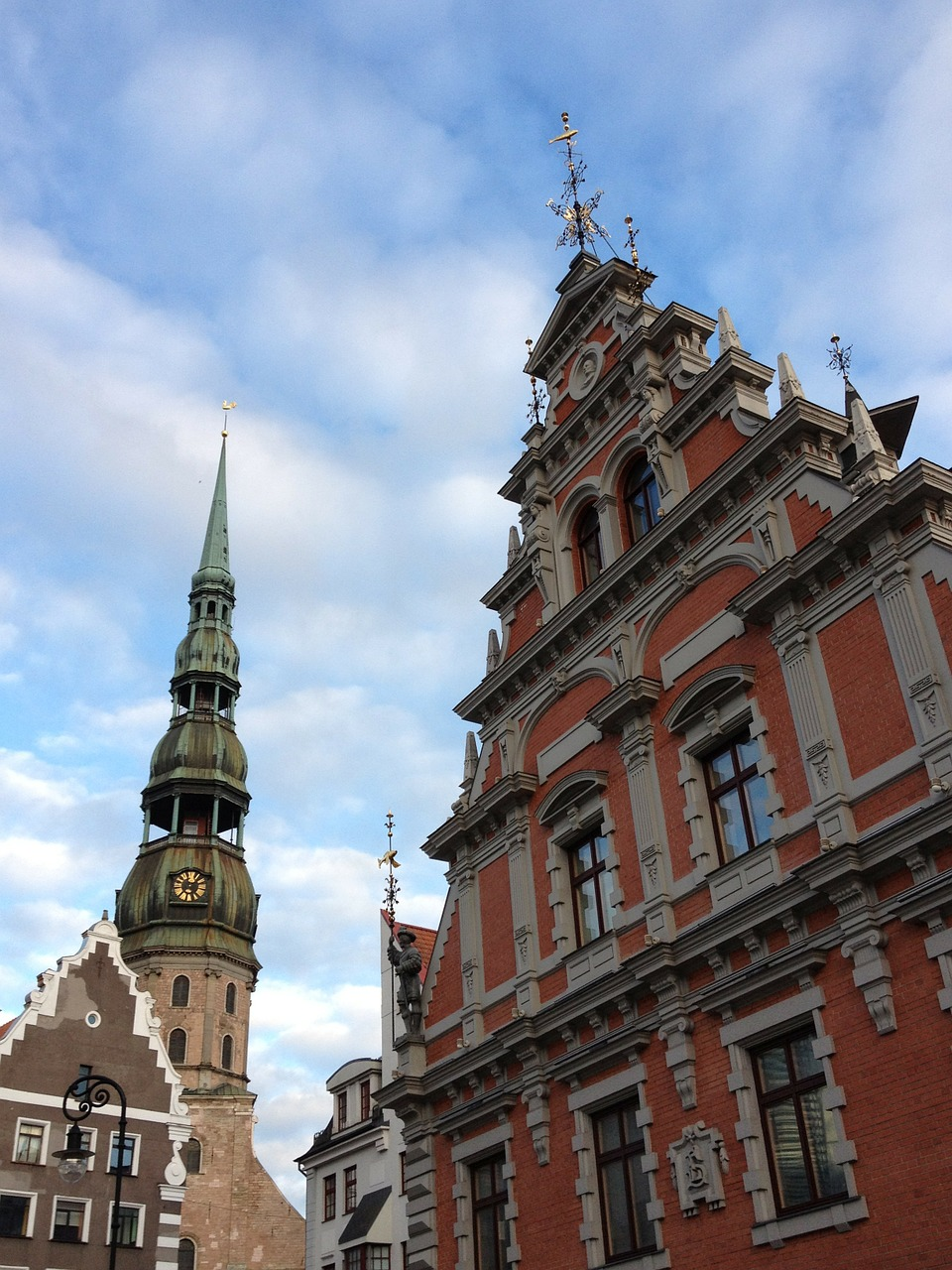 riga old latvia free photo