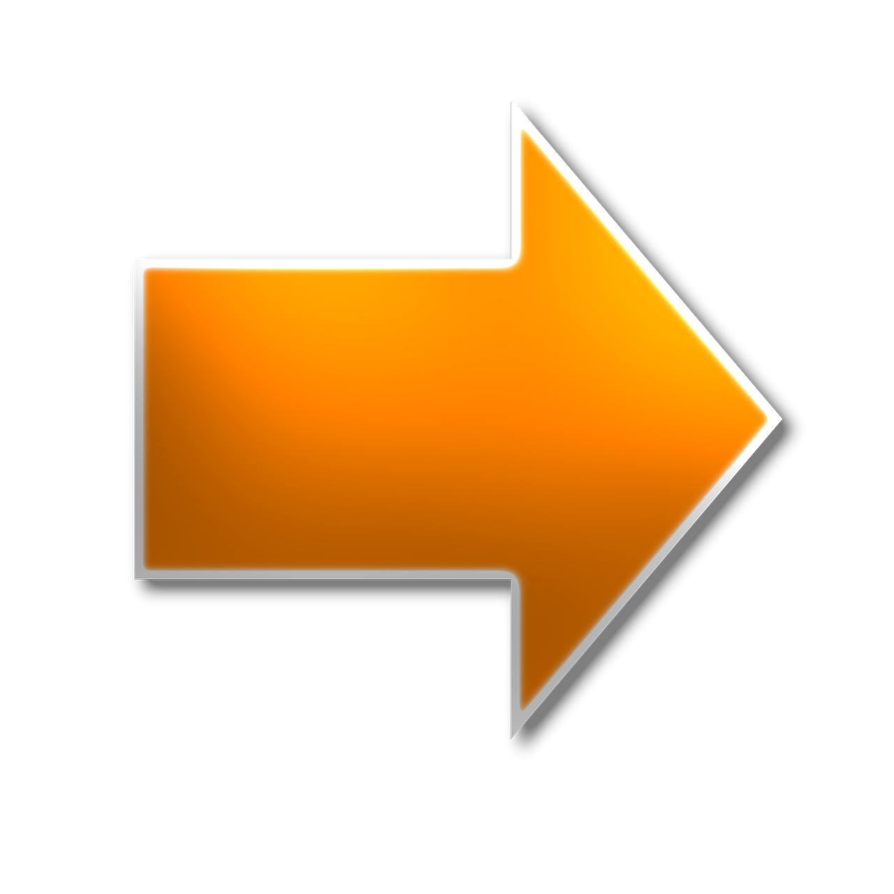 Right,arrow,yellow,pointing,directional - free photo from