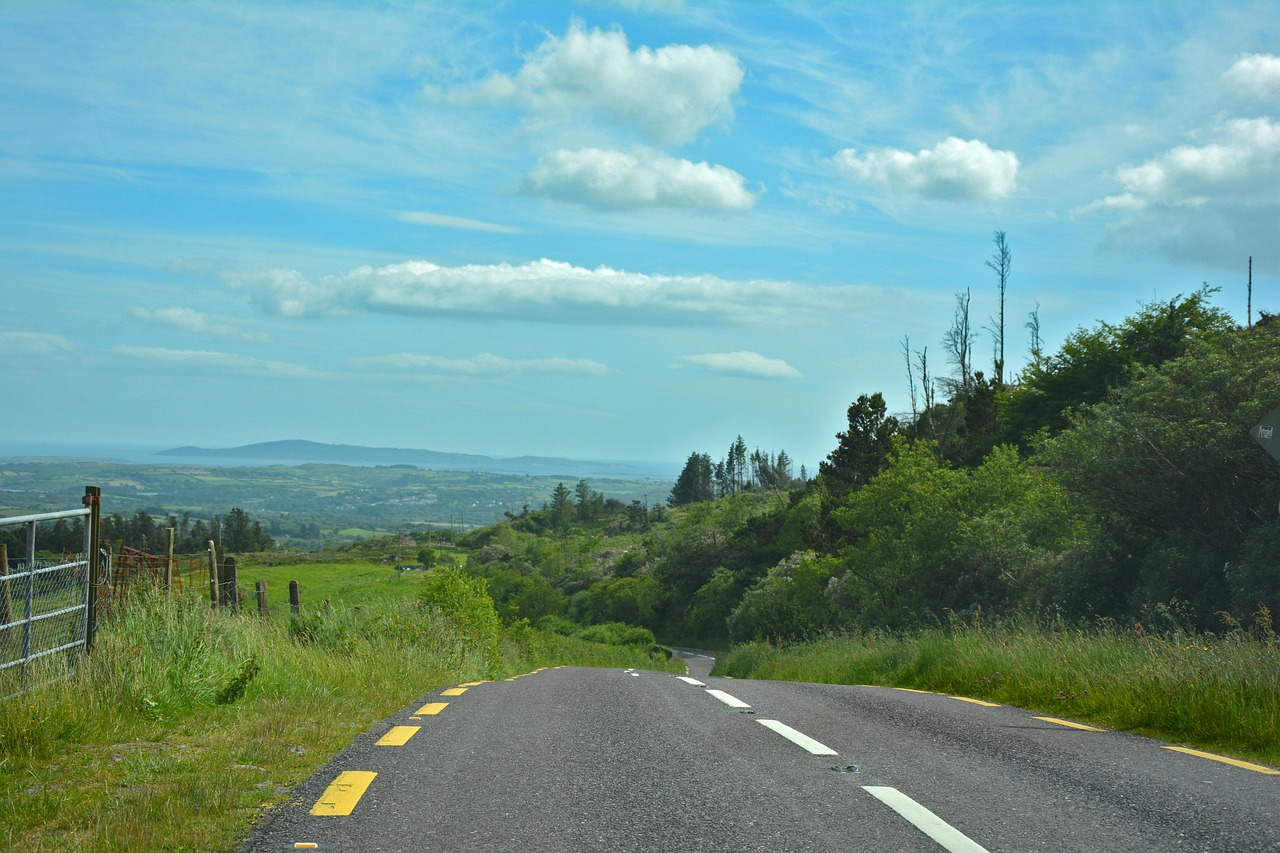 road irish ireland free photo