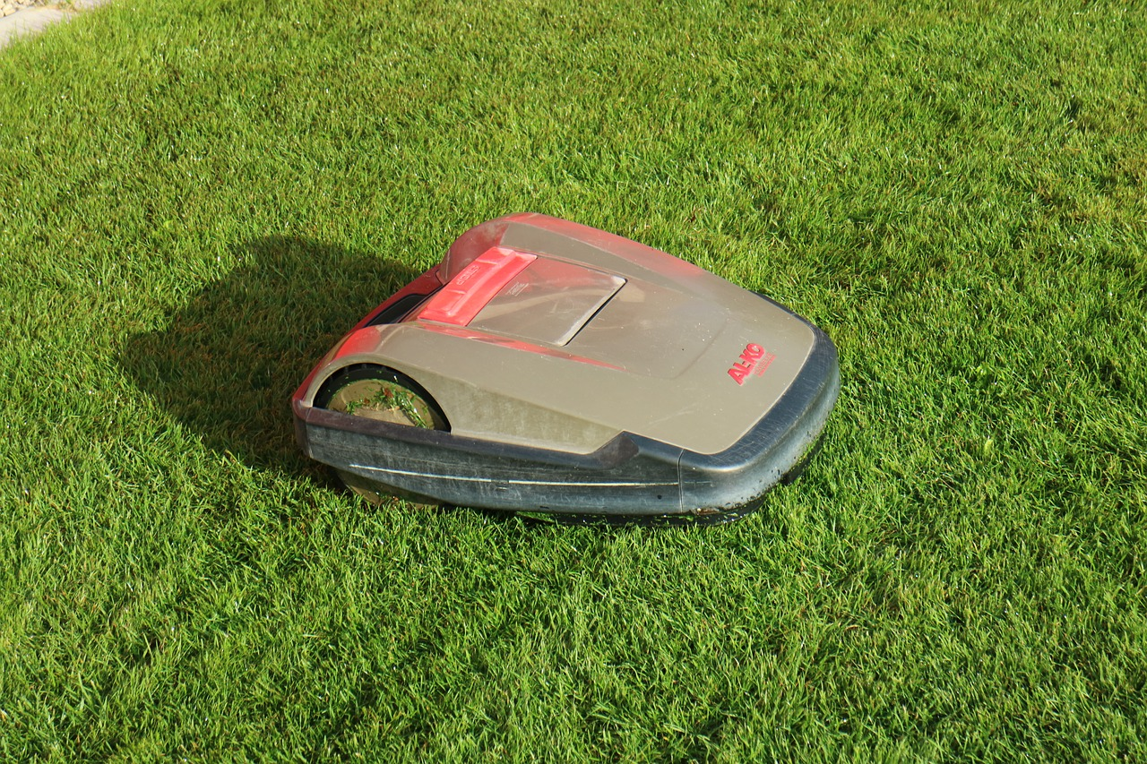 Image result for robotic lawn mower""