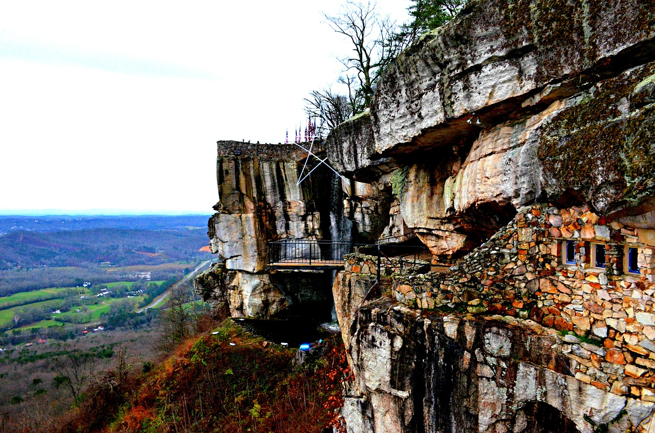 chattanooga rock city lookout mountain free photo