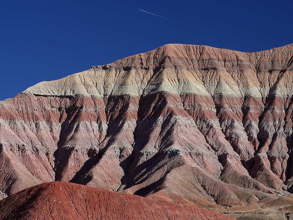 rock layers red rocks sand stone free picture