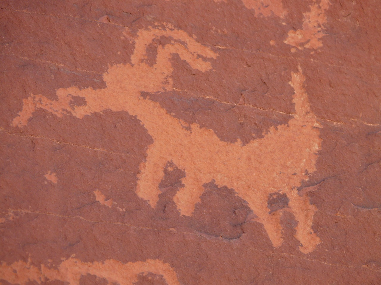 rock painting rock carving valley of fire free picture
