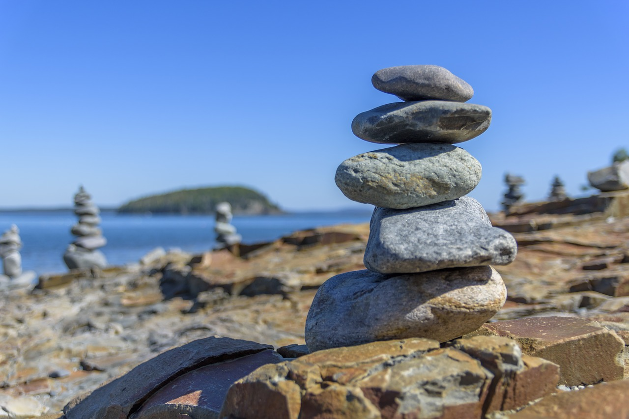 Rocks Balance Zen Stack Harmony Free Image From Needpix Com
