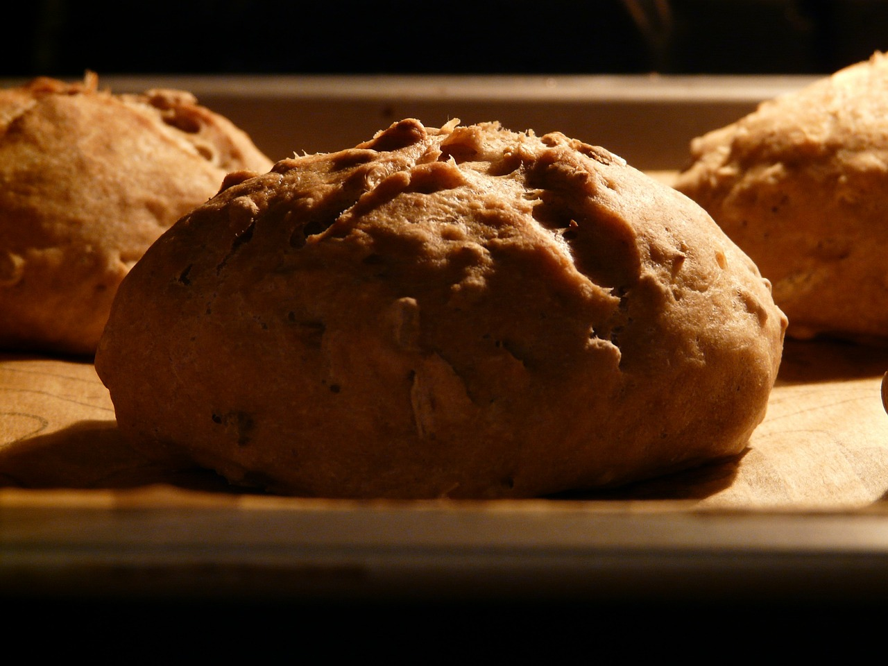 roll arouse bread free photo