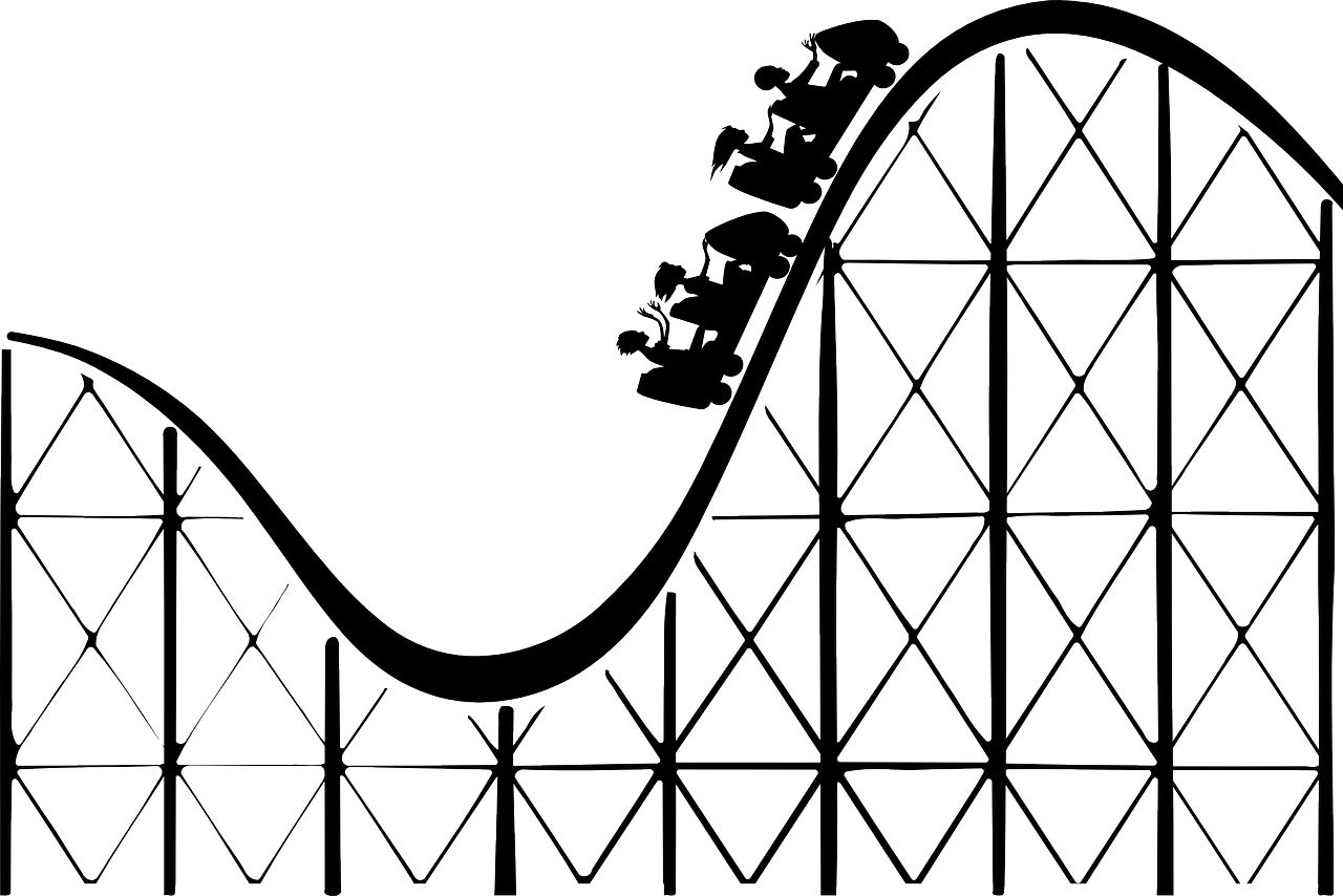roller coaster rollercoaster big dipper free photo